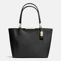 MADISONeast/west totein saffiano leather
