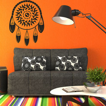 Vinyl Wall Decal Sticker Dream Catcher Ornament #OS_DC293