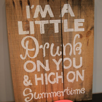 Summer Love Wooden Sign
