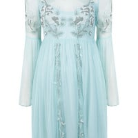 Mint Midsummer Smock Dress - View All  - Dress Shop