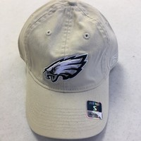 BRAND NEW REEBOK PHILADELPHIA EAGLES TAN RELAX FIT FITTED HAT