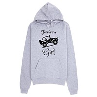 Forever a Jeep Girl Hoodie
