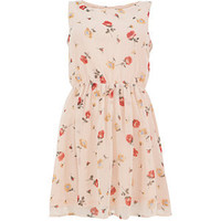 Madame Rage Pink Floral Peep Back Dress