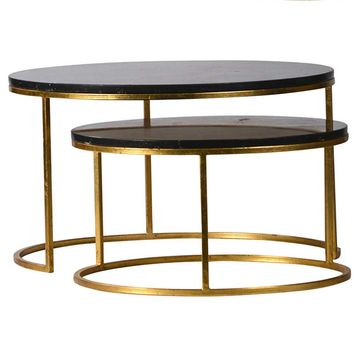 Dovetail Wallace Coffee Tables (Set of 2) | New Furniture | What's New! | Candelabra, Inc.