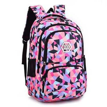 School Backpack ZIRANYU Girl School Bag Waterproof light Weight Girls Backpack bags printing backpack child backpacks for adolescent girl AT_48_3