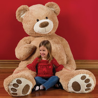 The 6 Foot Teddy Bear - Hammacher Schlemmer