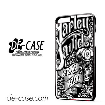 Harley Davidson Art Sign DEAL-5042 Apple Phonecase Cover For Iphone 6/ 6S Plus