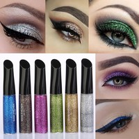 1pcs Professional Makeup Tool Glitter Eyeliner Liquid Waterproof Long Lasting Eyeshadow Shiny Eyeliner Cosmetic