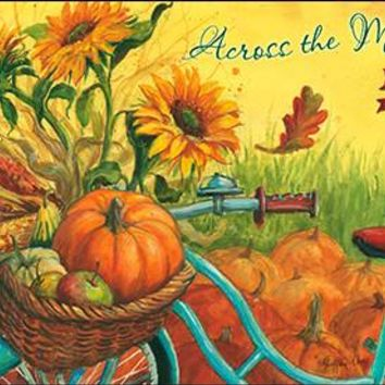 Across the Miles Thanksgiving Greeting Card, Set of 4