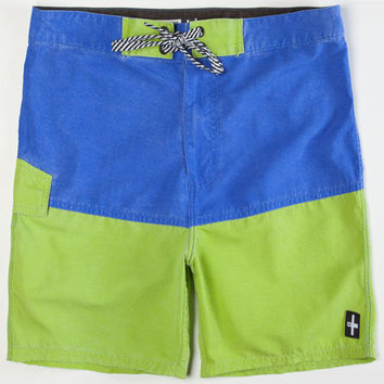 Tavik Deco Mens Boardshorts Blue  In Sizes