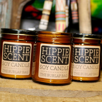 Candles - Hippie Scent