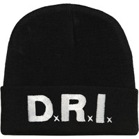 D.R.I. Men's Beanie Black