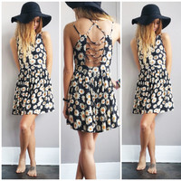 A Cutout Daisy Sundress