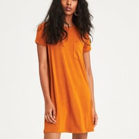 AE Soft & Sexy Knit T-Shirt Dress, Blush