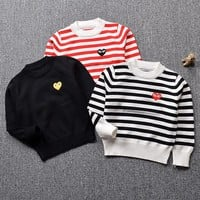 1-5yrs Children Knitted Sweaters Brand Baby Boy Clothes Infant 100% Cotton Long Sleeve Children Outwear Clothing Kids Bobo S