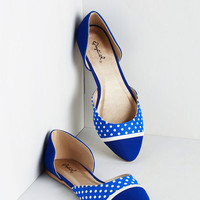 Darling Whole Stride World Flat in Blue