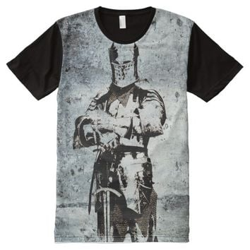 KNIGHT IN ARMOR All-Over-Print T-Shirt