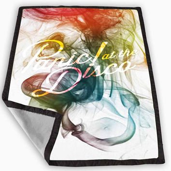 Panic at The Disco Smoke Blanket for Kids Blanket, Fleece Blanket Cute and Awesome Blanket for your bedding, Blanket fleece *