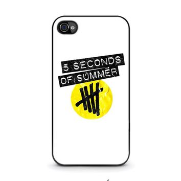 5 SECONDS OF SUMMER 2 5SOS iPhone 4 / 4S Case Cover