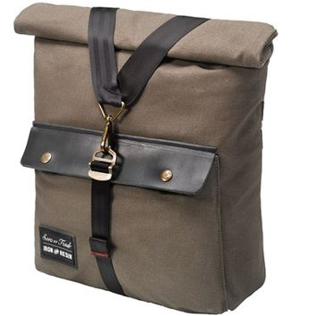 Men's Sons of Trade 'Terrain Pannier' Convertible Saddle Messenger Bag - Brown