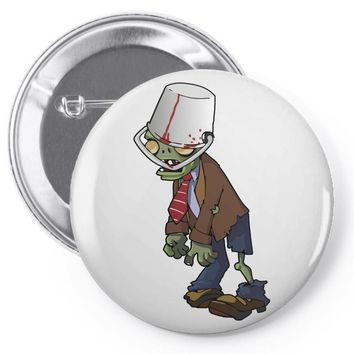 plant vs zombie Pin-back button