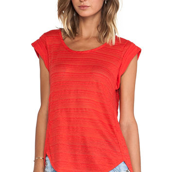 Marc by Marc Jacobs Eloise Ombre Jersey Tee in Red