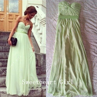 Charming Sweetheart Floor Length Prom Dress from Cute Dresses