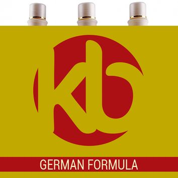 KB GERMAN FORMULA BRAZILIAN KERATIN TREATMENT KIT 34 oz (1000ml).