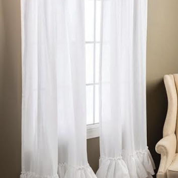 Kimberly Ruffled Curtains