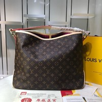 LV Louis Vuitton Women Handbag Leather Ladies Hand Bag For Women Designer Vintage Shoulder Bag