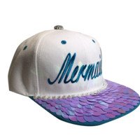 Mermaid Snapback Purple
