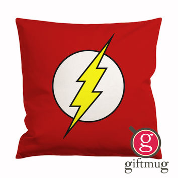 The Flash Logo Cushion Case / Pillow Case