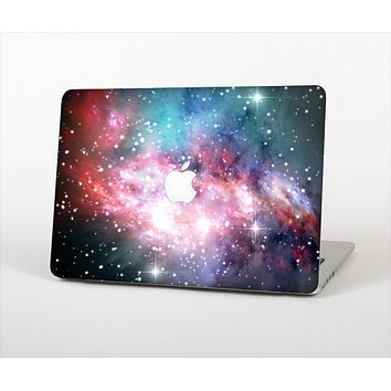 The Colorful Neon Space Nebula Skin Set for the Apple MacBook Pro 13""