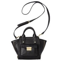 3.1 Phillip Lim for Target® Mini Satchel with Gusset - Black