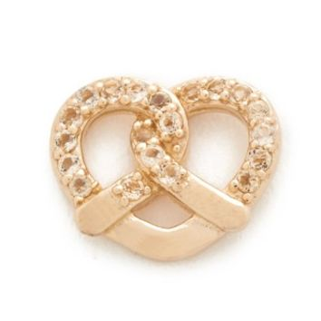 Pretzel Single Stud Earring