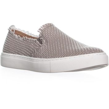 Indigo Rd. Kicky Woven Slip On Sneakers , Light Natural, 8.5 US