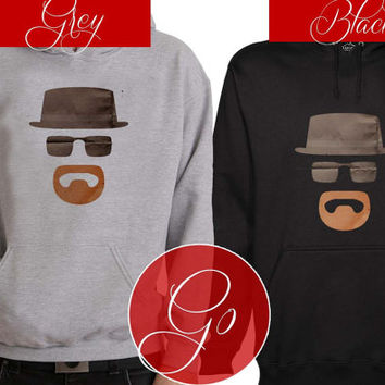 Heisenberg Paper Art Hoodie Sweatshirt Sweater Shirt black and white Unisex