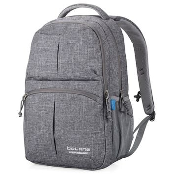 Bolang Water Resistant Nylon School Bag College Laptop Backpack 8459