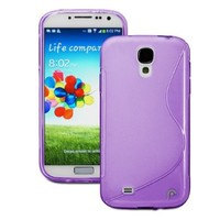 Fosmon DURA S Series SLIM-Fit TPU Case for Samsung Galaxy S4 IV / I9500 (Purple)