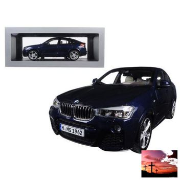 BMW X4 (F26) Imperial Blue 1/18 Diecast Model Car by Paragon