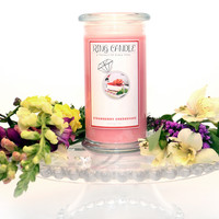 Strawberry Cheesecake Ring Candle