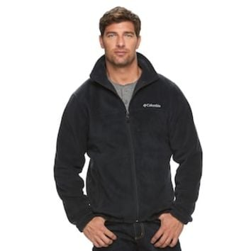 Men's Columbia Flattop Ridge Fleece Jacket | null