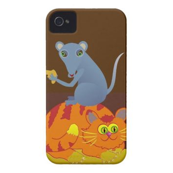 Cat & Mouse Case-Mate iPhone 4 Case