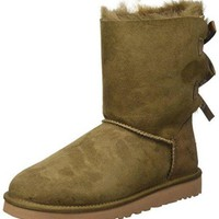 DCCKV3S Ugg Australia Bailey Bow Womens Boots Brown  UGG Kids' I Jesse Bow Boot  UGG boots with bows