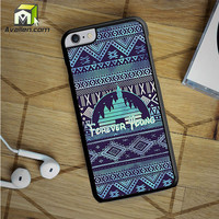 Forever Young Disney Aztec Pattern iPhone 6S Plus Case by Avallen