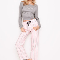The Henley Flannel PJ - Victoria's Secret