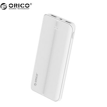 ORICO QC3.0 Power Bank External Battery Portable Mobile Backup Bank Charger for Android iPhone with Flashlight 10000mAh