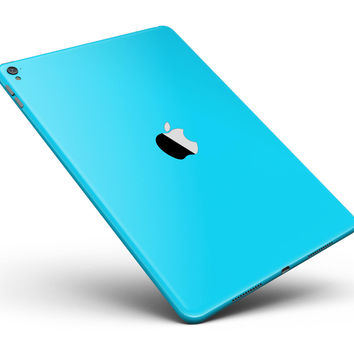 """Solid Turquoise Blue Full Body Skin for the iPad Pro (12.9"""" or 9.7"""" available)"""