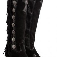 LANE WOMEN'S VAQUERO FRINGED BOOT
