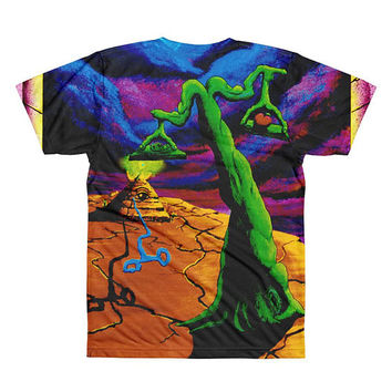 Trippy Surreal Art All-Over Printed T-Shirt - The Balance by Vincent Monaco